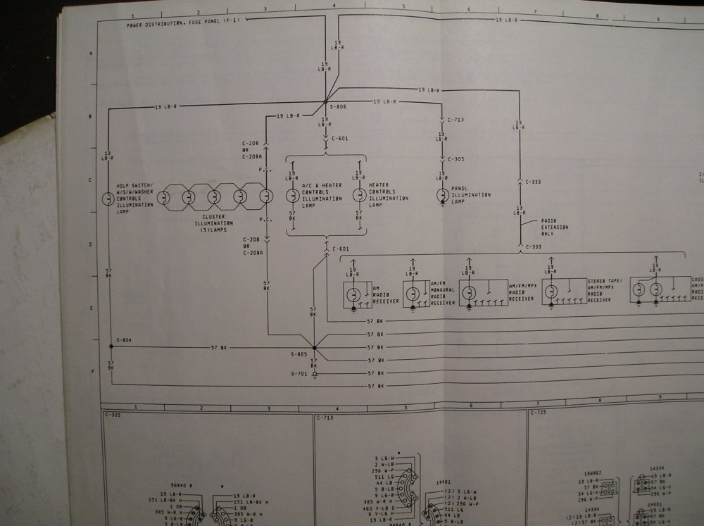 medium resolution of  1982 f100 cluster connector wiring diagram ford truck enthusiasts c f c ab wiring diagram on cb