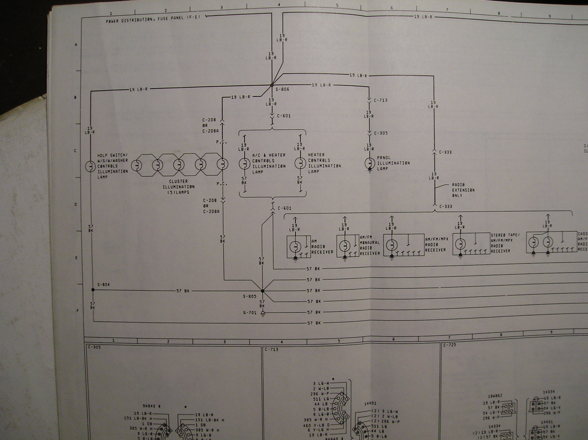 hight resolution of  1982 f100 cluster connector wiring diagram ford truck enthusiasts c f c ab wiring diagram on cb
