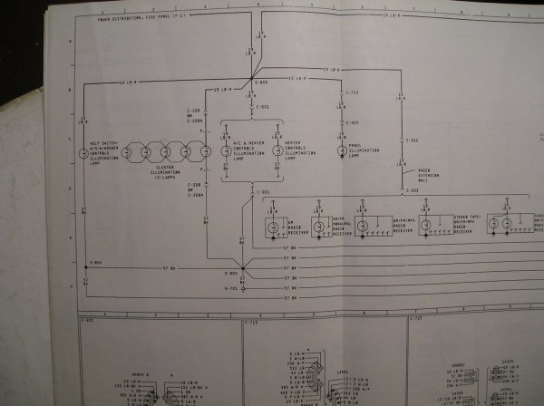 1982 f100 cluster connector wiring diagram - ford truck