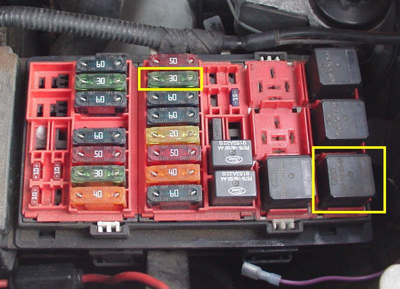 1996 Ford Explorer Fuse Box Diagram Circuit Wiring Diagrams