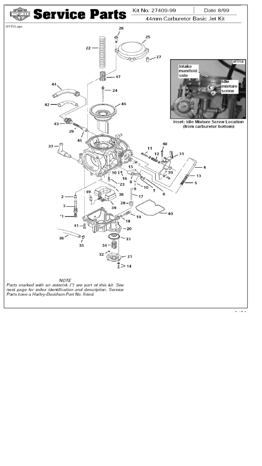 medium resolution of 1992 fatboy carburator