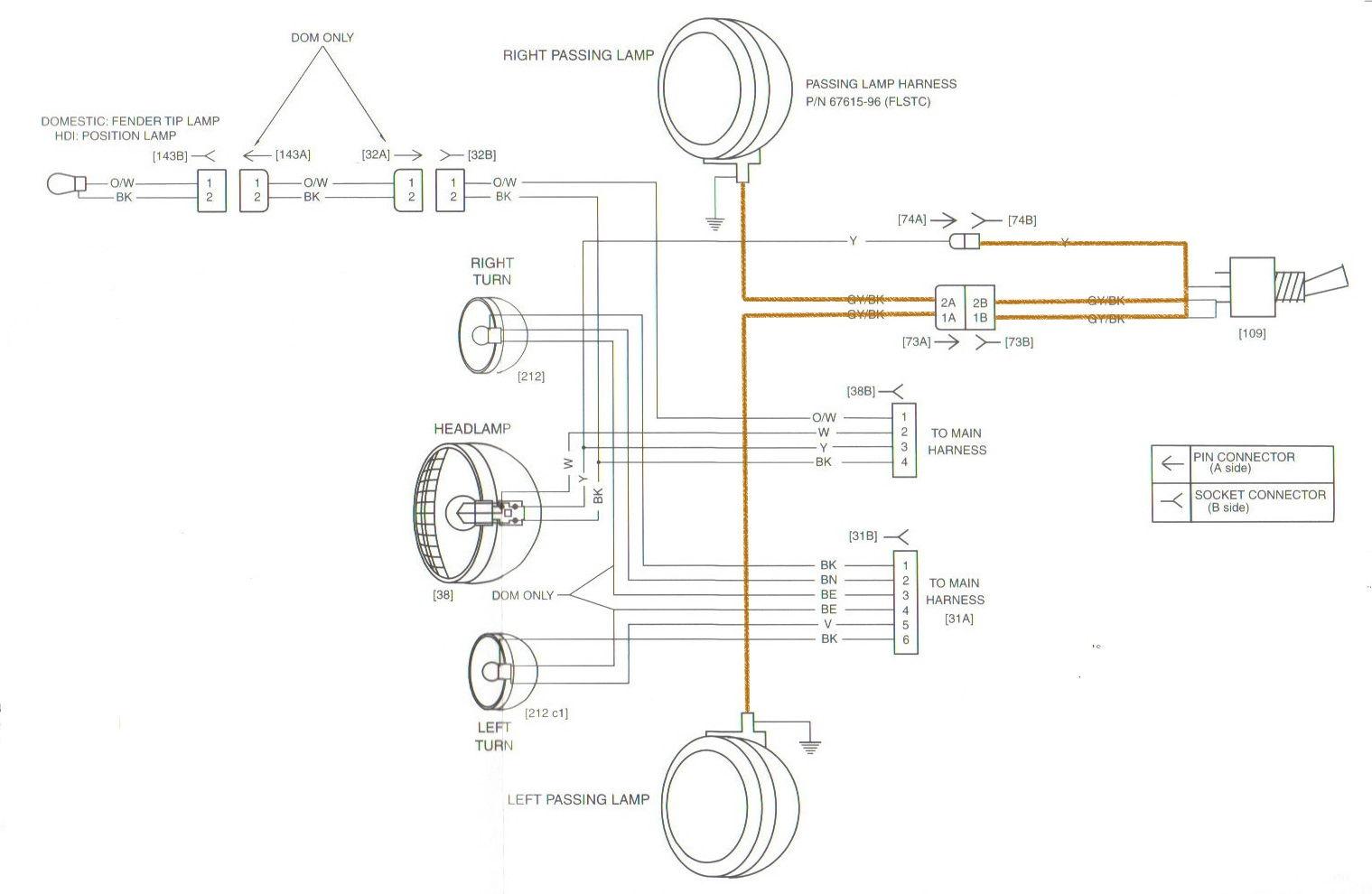 2003 heritage softail wiring diagram
