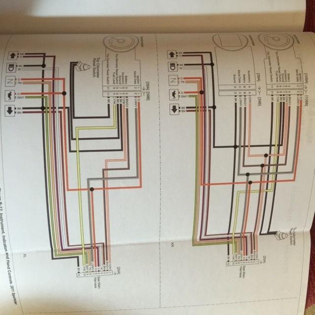 73 harley sportster wiring diagram harley speedometer