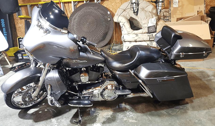 Pack Harley Tour Black Advan