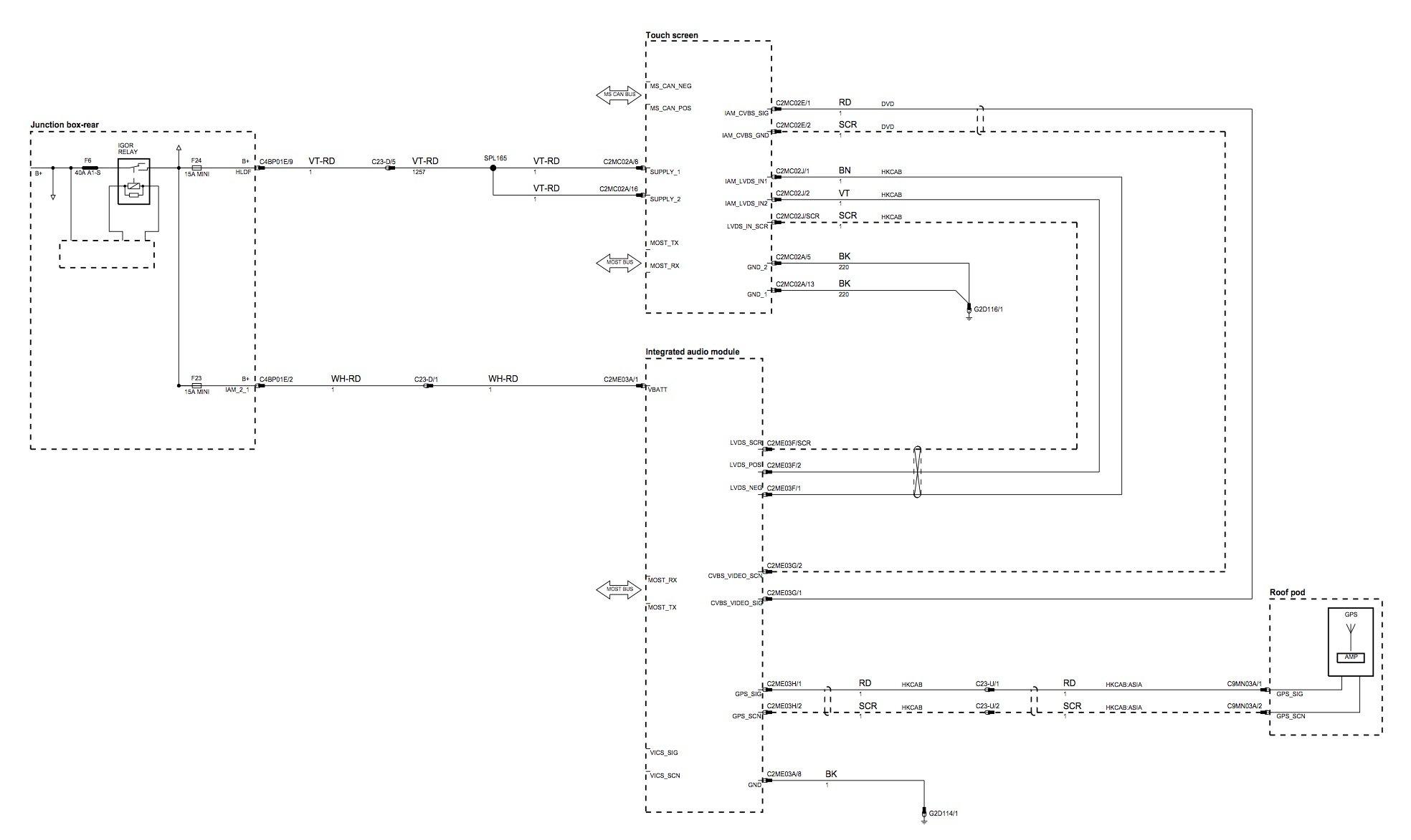 hight resolution of denso gen2 1 iam2 1 level 3 navigation hdd with jaguarvoice retrofit jaguar navigation wiring diagram