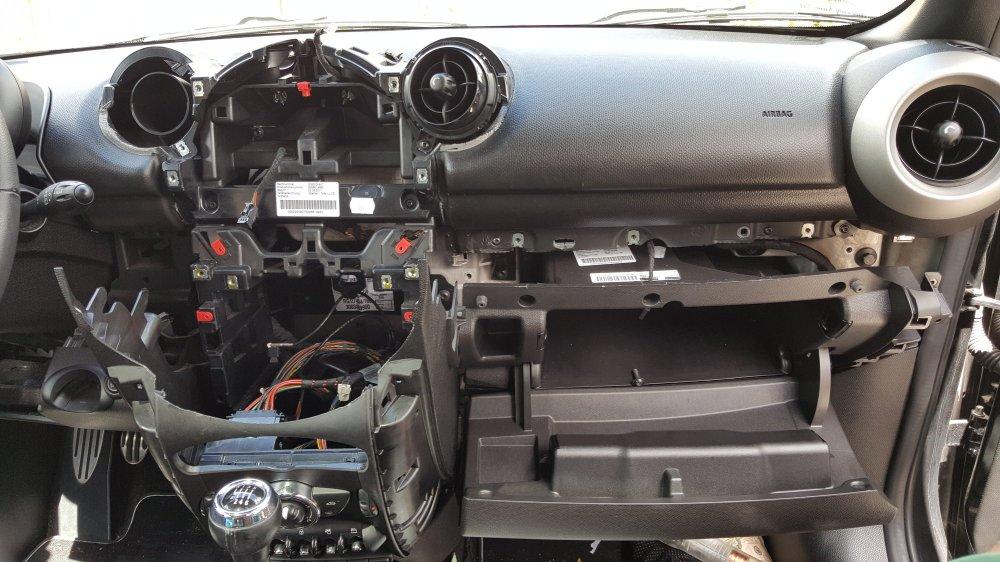 medium resolution of countryman r60 teardown for radio install
