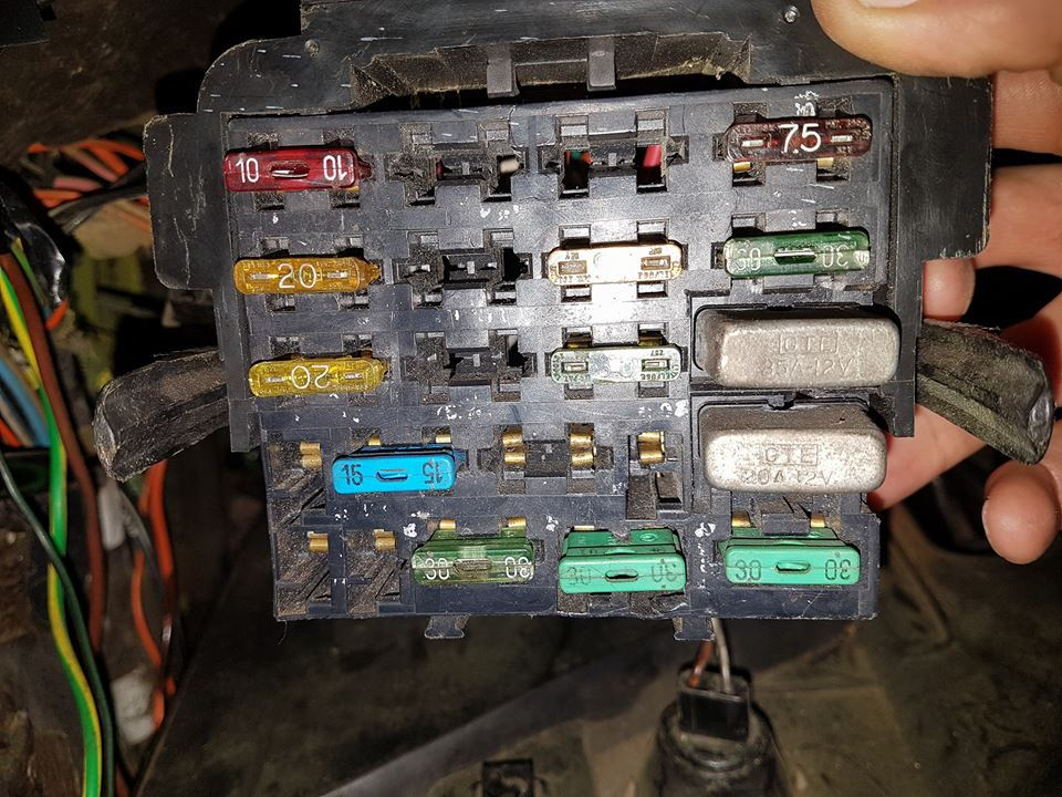 1990 Camaro Fuse Box Diagram
