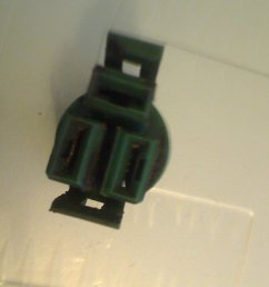 this is the square green plug that has two vertical slots and a horizontal one above them see photo  [ 1600 x 1200 Pixel ]