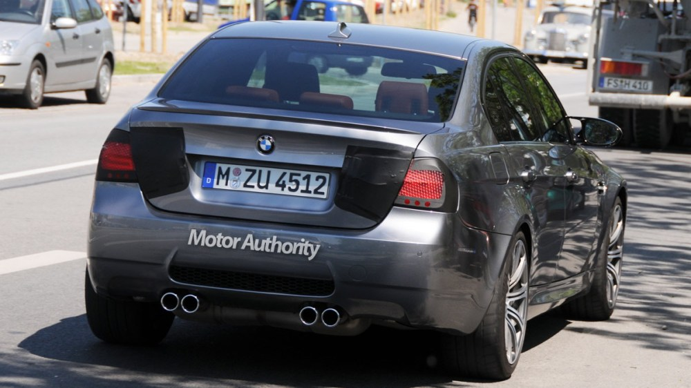 medium resolution of 2010 bmw m3 sedan facelift motorauthority 004