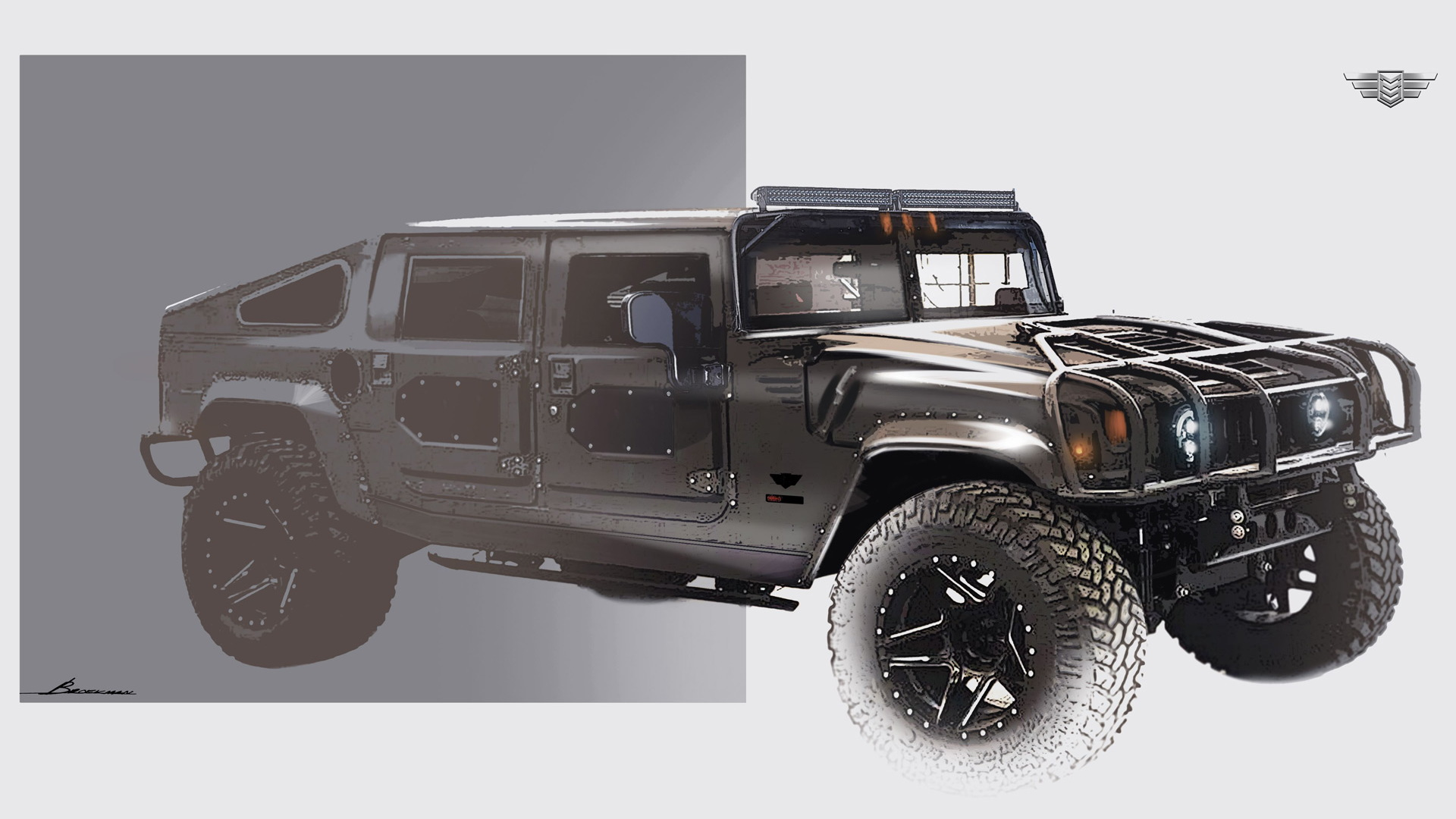 hight resolution of teaser for mil spec launch edition 002 hummer h1