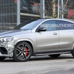 2021 Mercedes Amg Gle63 Coupe Spy Shots And Video