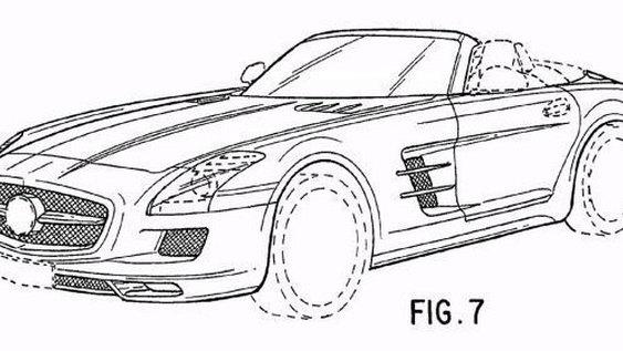 2012 Mercedes-Benz SLS AMG Roadster Revealed In Official