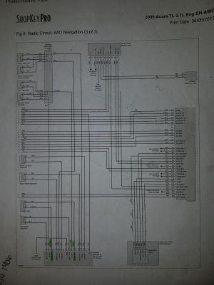 4G Acura TL (2009) nontech subwoofer intergration