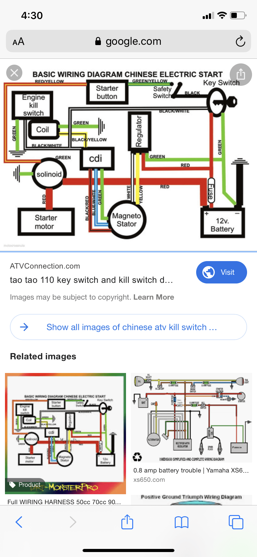 Chinese Atv Wiring Diagram : chinese, wiring, diagram, Where?, ATVConnection.com, Enthusiast, Community