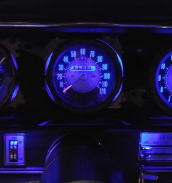 with the rally temp oil gas gauge and have the blue leds with mine nice to see what my dash will look like sometime during this show season  [ 1999 x 1124 Pixel ]