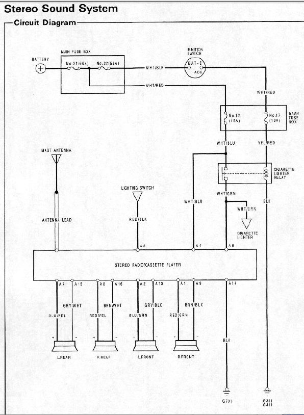 1991 honda crx radio wiring diagram 06 polaris predator 500 wtf!!! i think the diagrams are wrong - honda-tech forum discussion