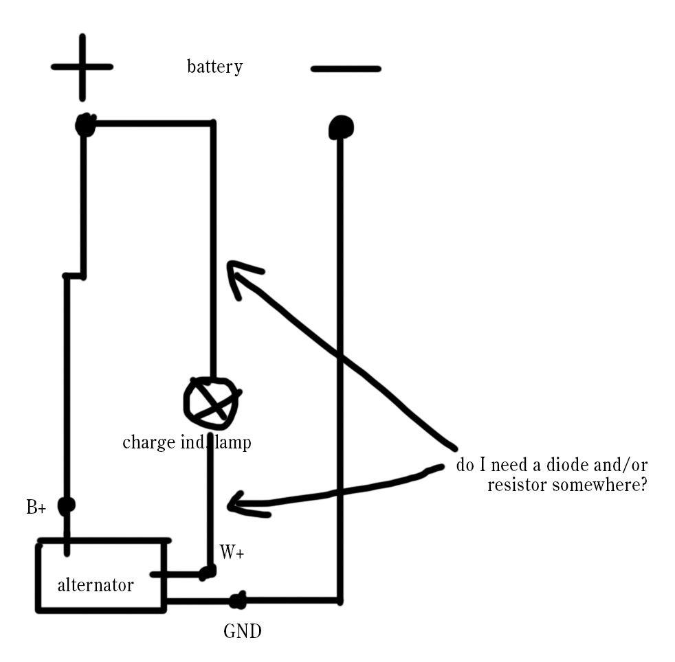 Alternator Wiring Help Needed