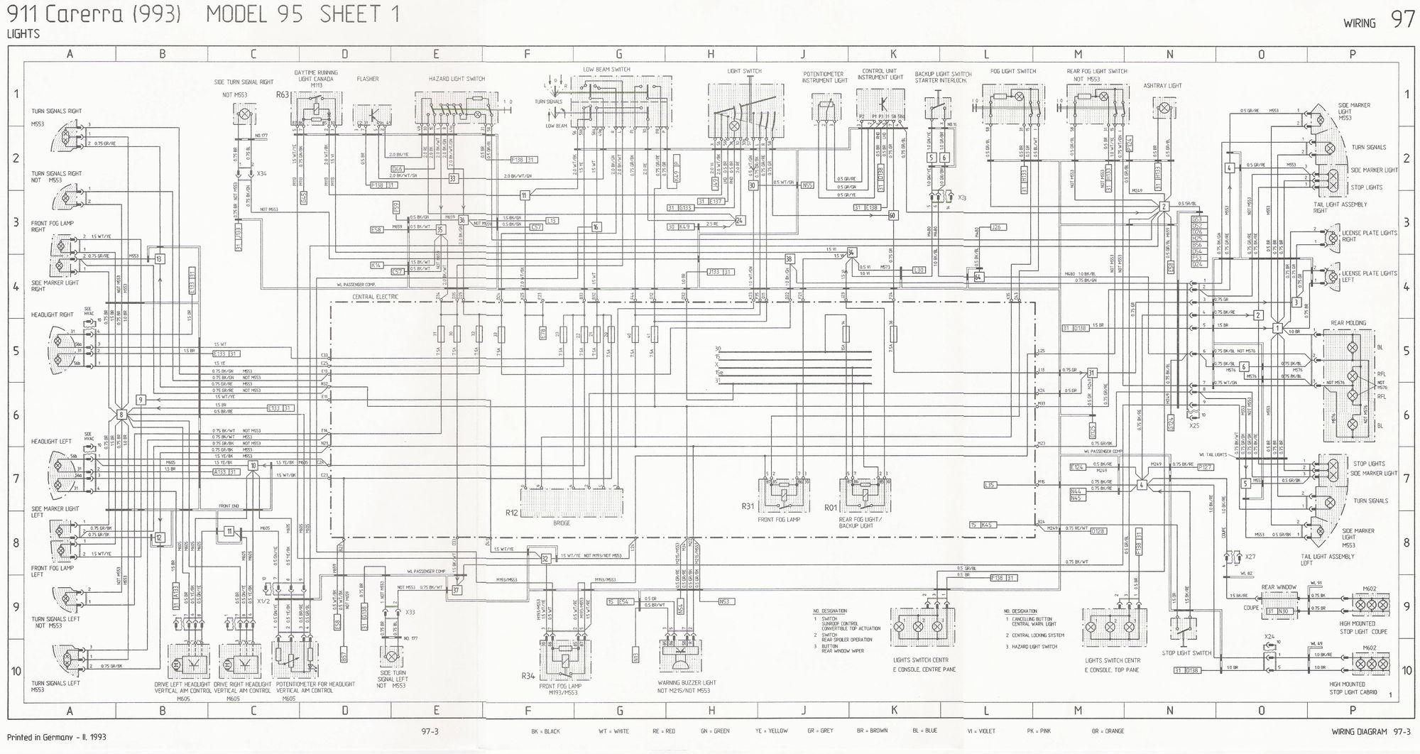 porsche 914 wiring diagram lighting circuit multiple lights uk 1974 engine harness