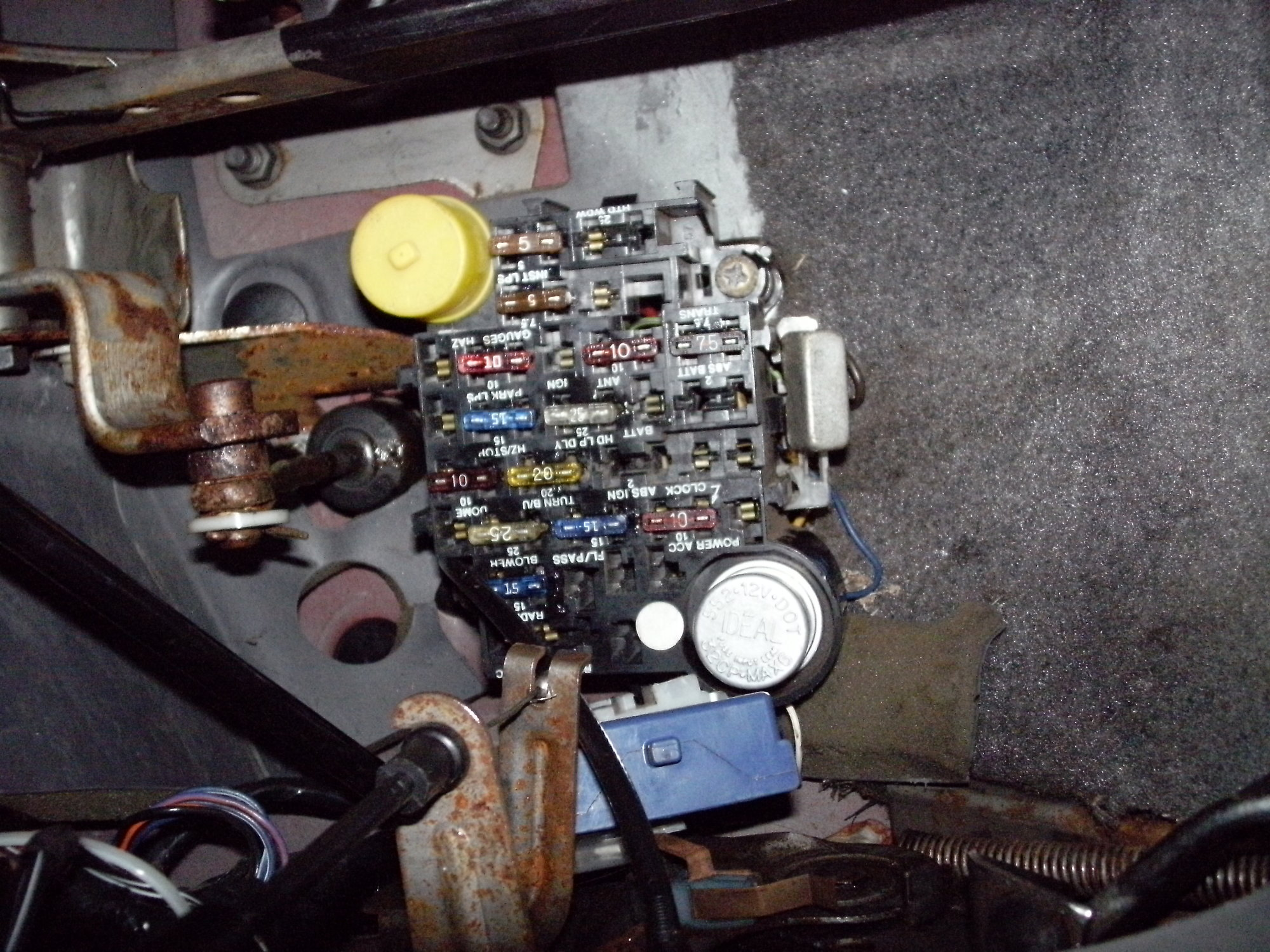 hight resolution of jeep comanche fuse box diagram schema wiring diagram online 95 jeep cherokee fuse diagram 1988 jeep