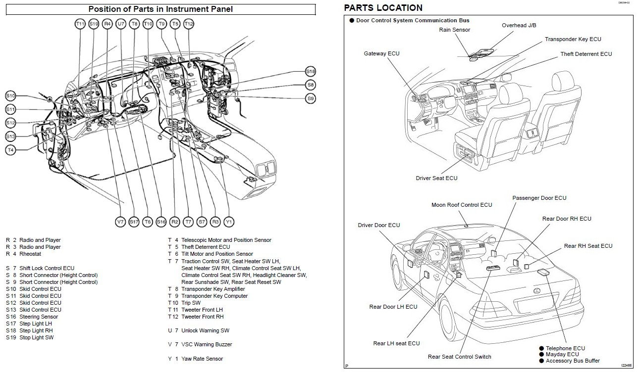 Wiring Diagram PDF: 2003 Lexus Ls 430 Engine Diagram