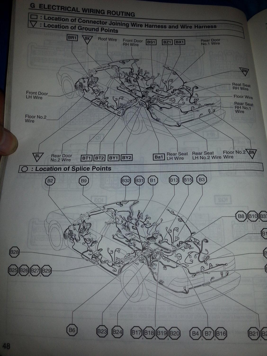 Radio Wiring Diagram On 1990 Lexus Ls400 Engine Diagram