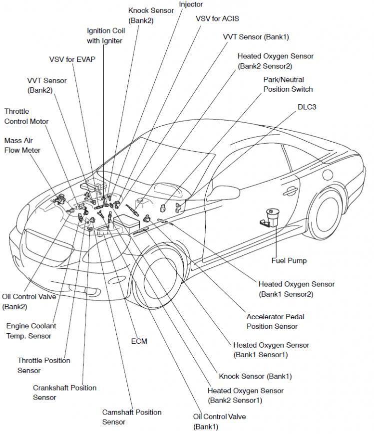 97 4runner spark plug wire diagram
