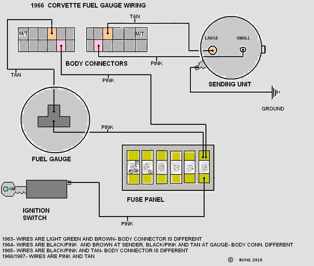 65 Tank Sending Unit Wiring