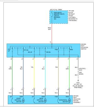 C6 Electrical Seat Wiring diagram  CorvetteForum