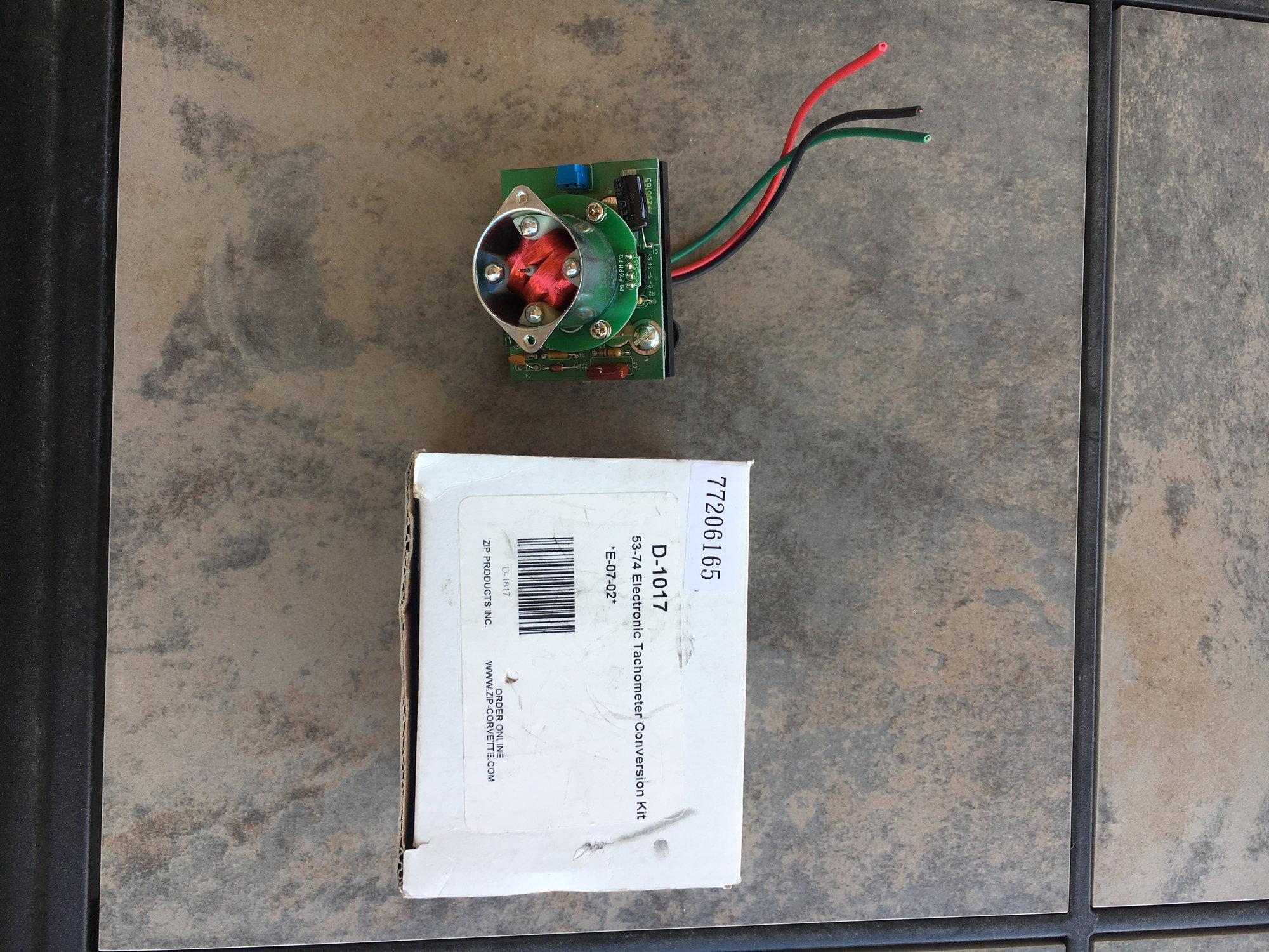 hei distributor tach output signal scosche loc2sl wiring diagram corvette electronic tachometer conversion kit best