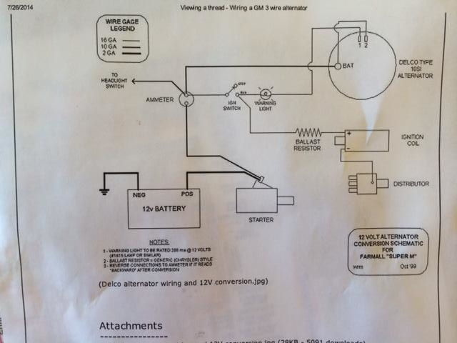 Alternator Wiring Diagram Furthermore Gm One Wire Alternator Wiring