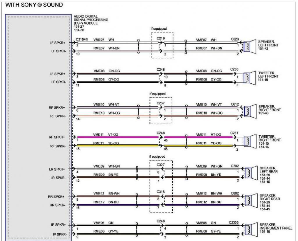 hight resolution of 2014 sony nav wiring diagram ford f150 forum community ofyou will have to pull the centre