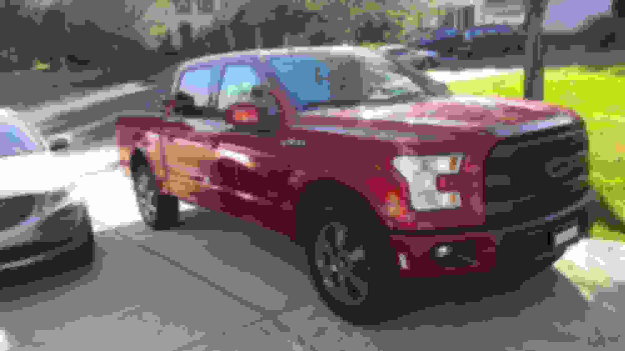 hight resolution of definitely a big disappointment i spent 8 months looking for the perfect truck here s the pic from when i brought it home on the test drive