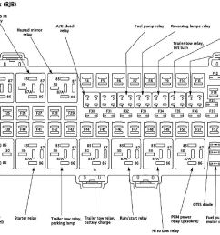 i found a new diagram for the battery junction box which shows a relay for trailer tow parking lamps but i don t see it under the hood or dash  [ 1201 x 830 Pixel ]