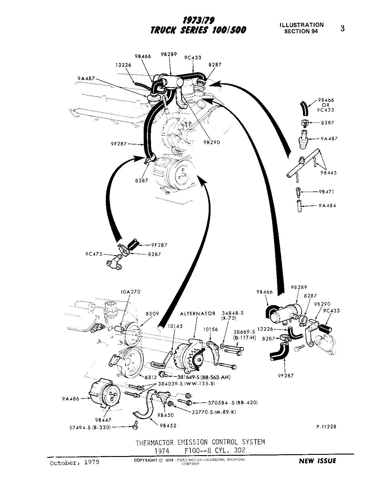 Help Finding New Stock Exhaust Manifolds For 74 F100 302