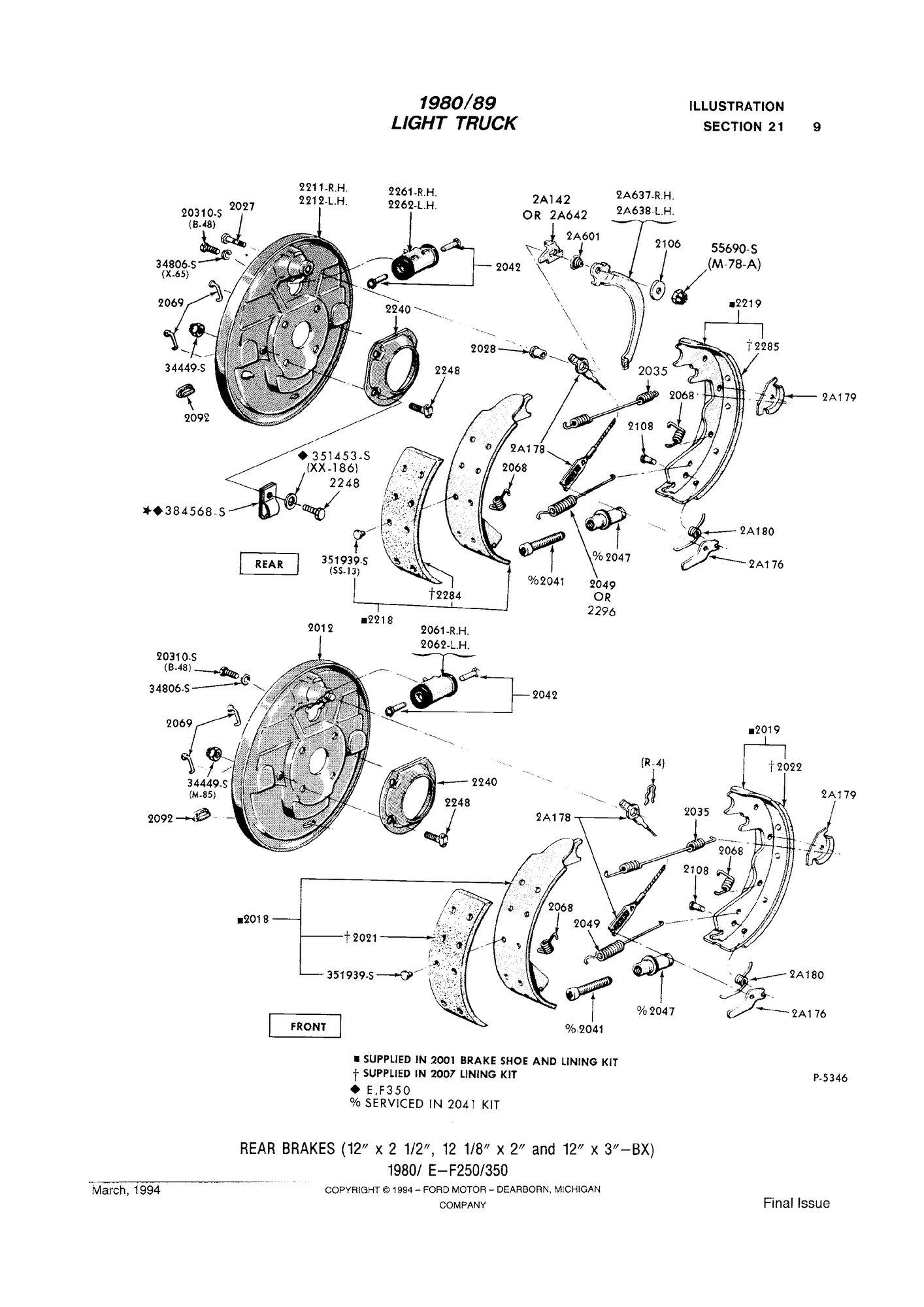 [DIAGRAM DOWNLOAD] Ford Aerostar Suspension Diagram HD