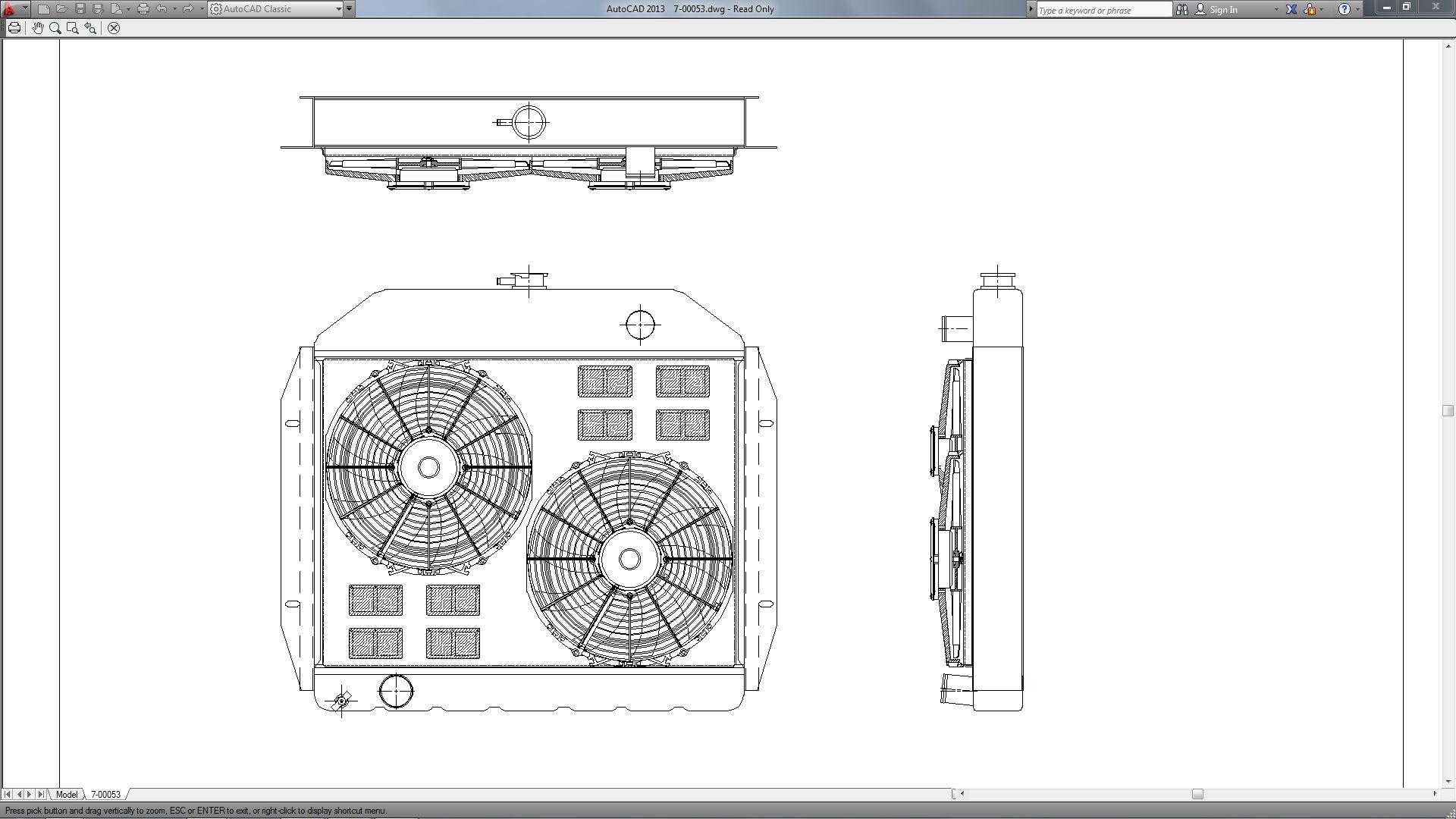 ford truck radiator