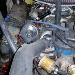 Ford Duraspark Ignition Single Kicker Cvr 12 Wiring Diagram Distributor Cap Too Large Conversions