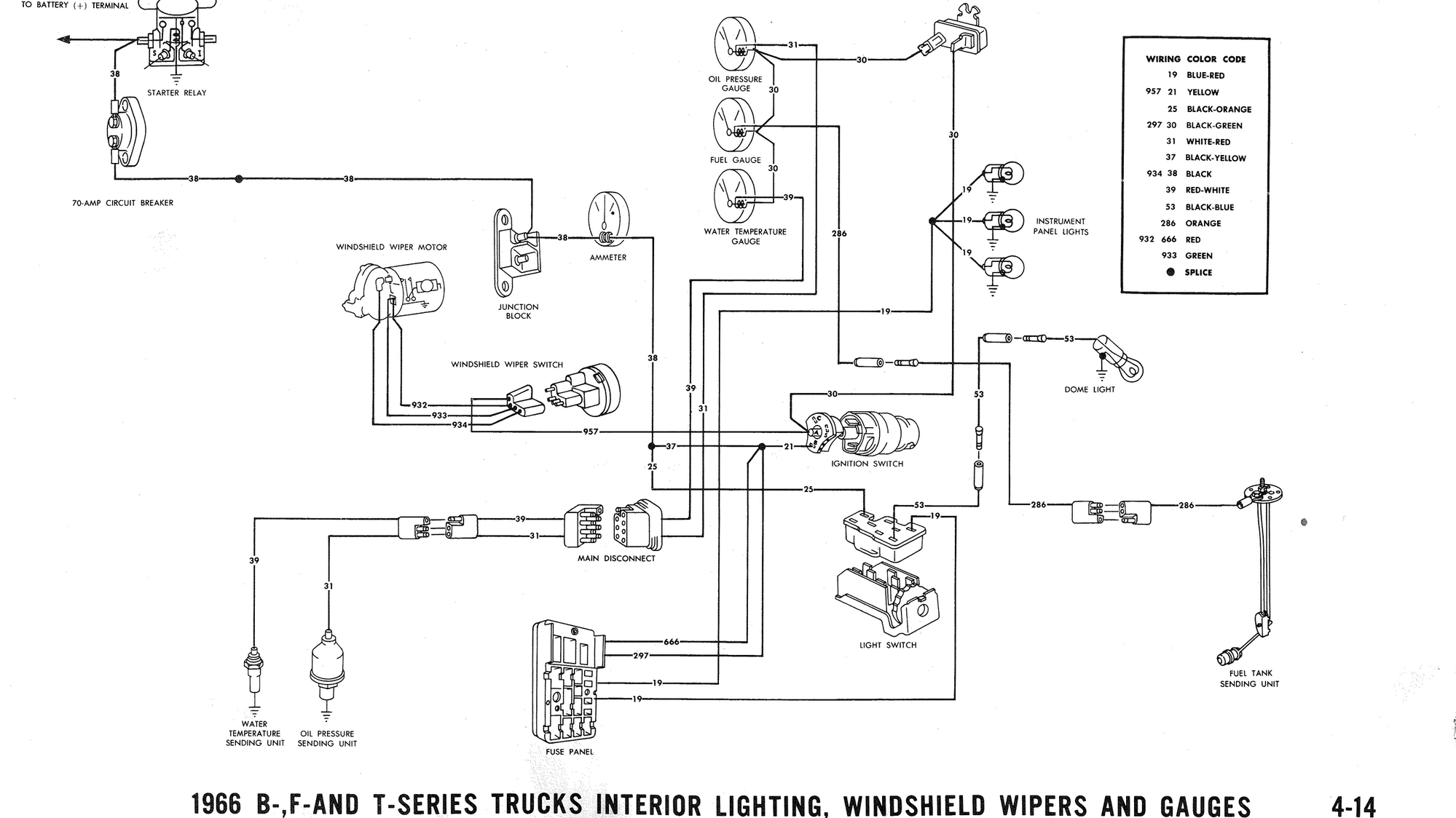 66 Chevy Pickup Wiring Diagram
