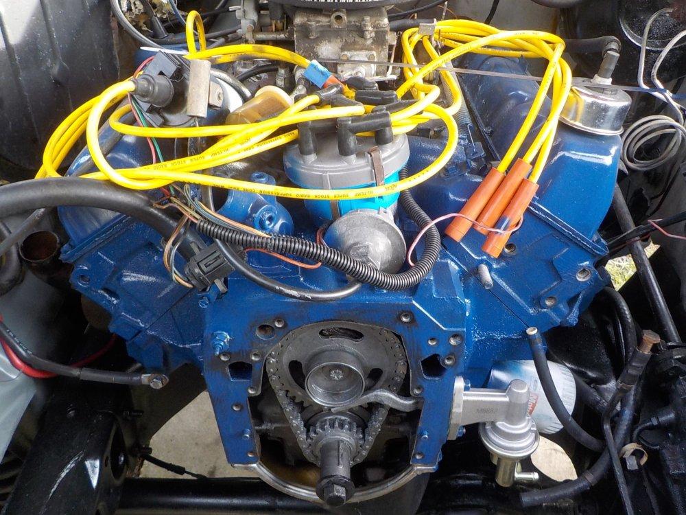 medium resolution of 351m 400 gates 43041 water pump and alternator bracket clearance issue problem