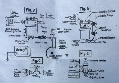 Oil Pump Switch Wiring Diagram Fixya