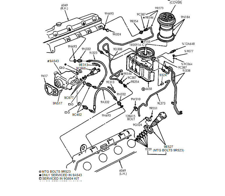 [DIAGRAM] Ford 73 Diesel Fuel Filter Diagram FULL Version