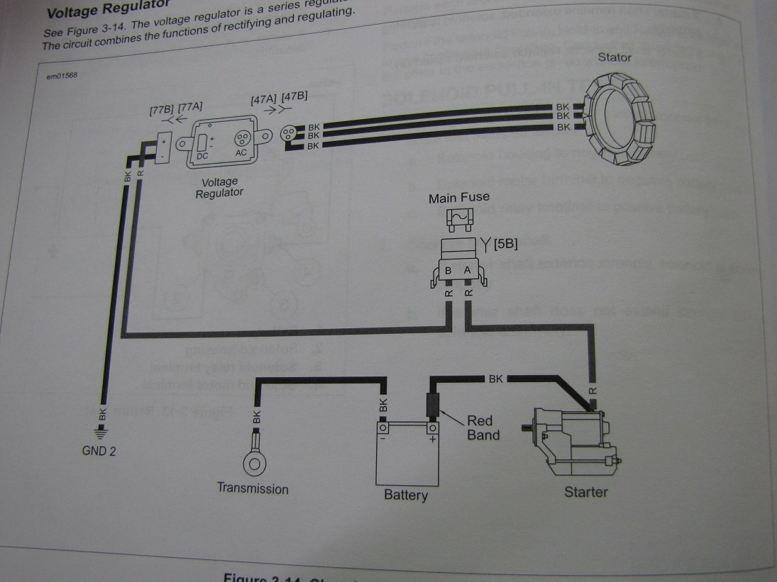 hight resolution of harley davidson charging system description and testing