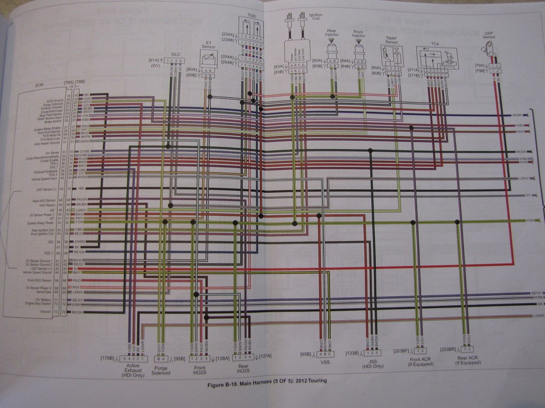 Road King Wiring Diagram Harley Davidson Wiring Diagram Harley