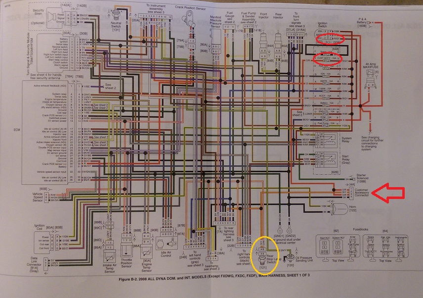 Davidson Street Glide Wiring Diagram Further Ignition Circuit Diagram
