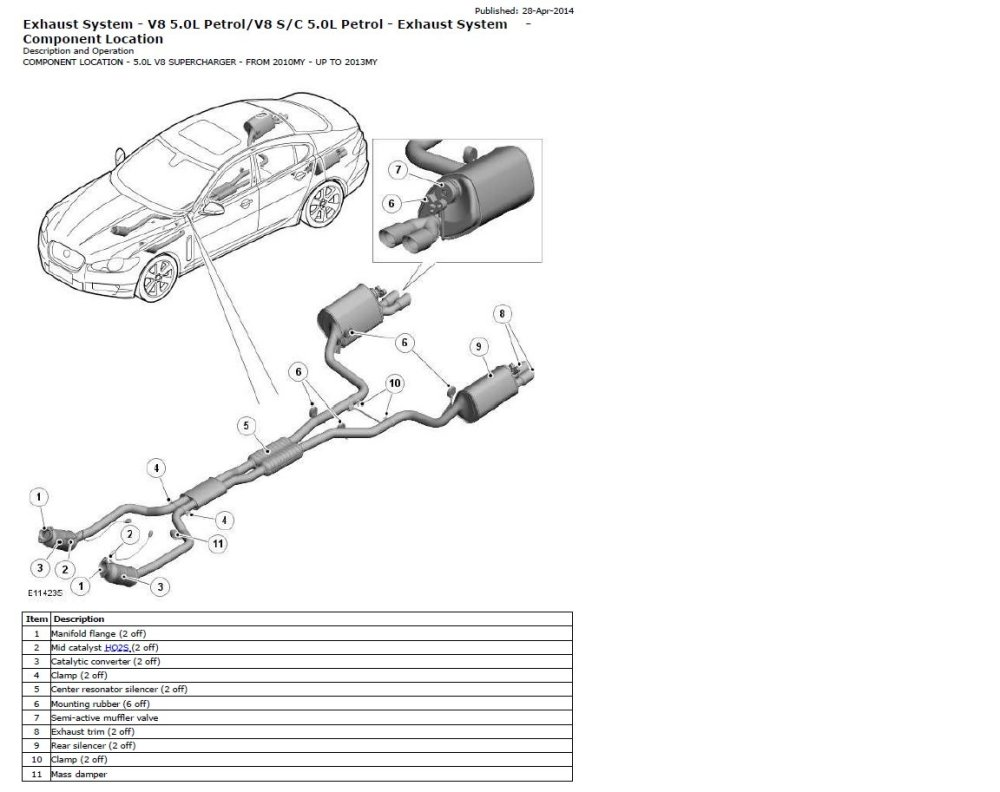 medium resolution of 5 0 n a exhaust system jaguar forums jaguar enthusiasts forum jaguar xf exhaust system diagram