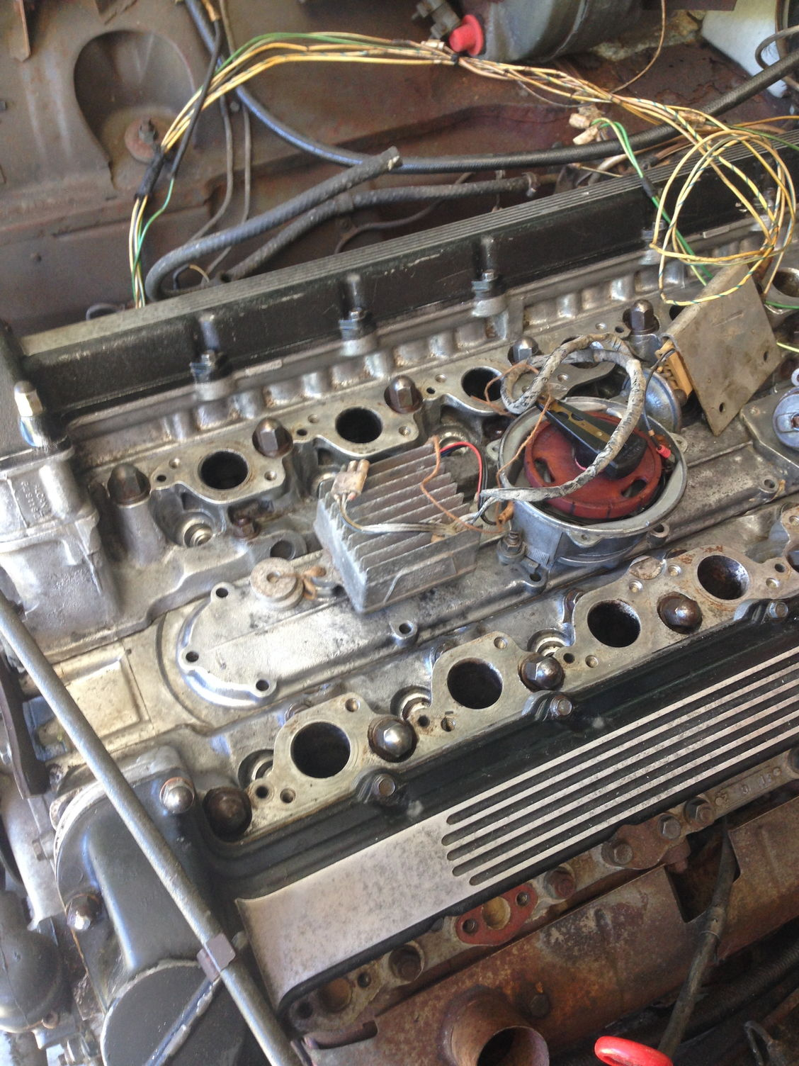hight resolution of series 1 v12 ignition and wiring in the valley of death jaguar rh jaguarforums com painless