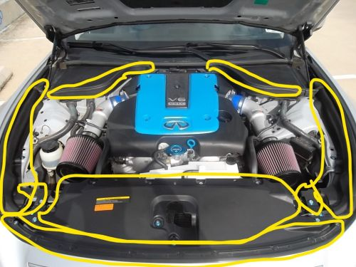 small resolution of engine bay parts diagram myg37 rh myg37 com g37 engine bay 2011 infiniti g37 engine diagram
