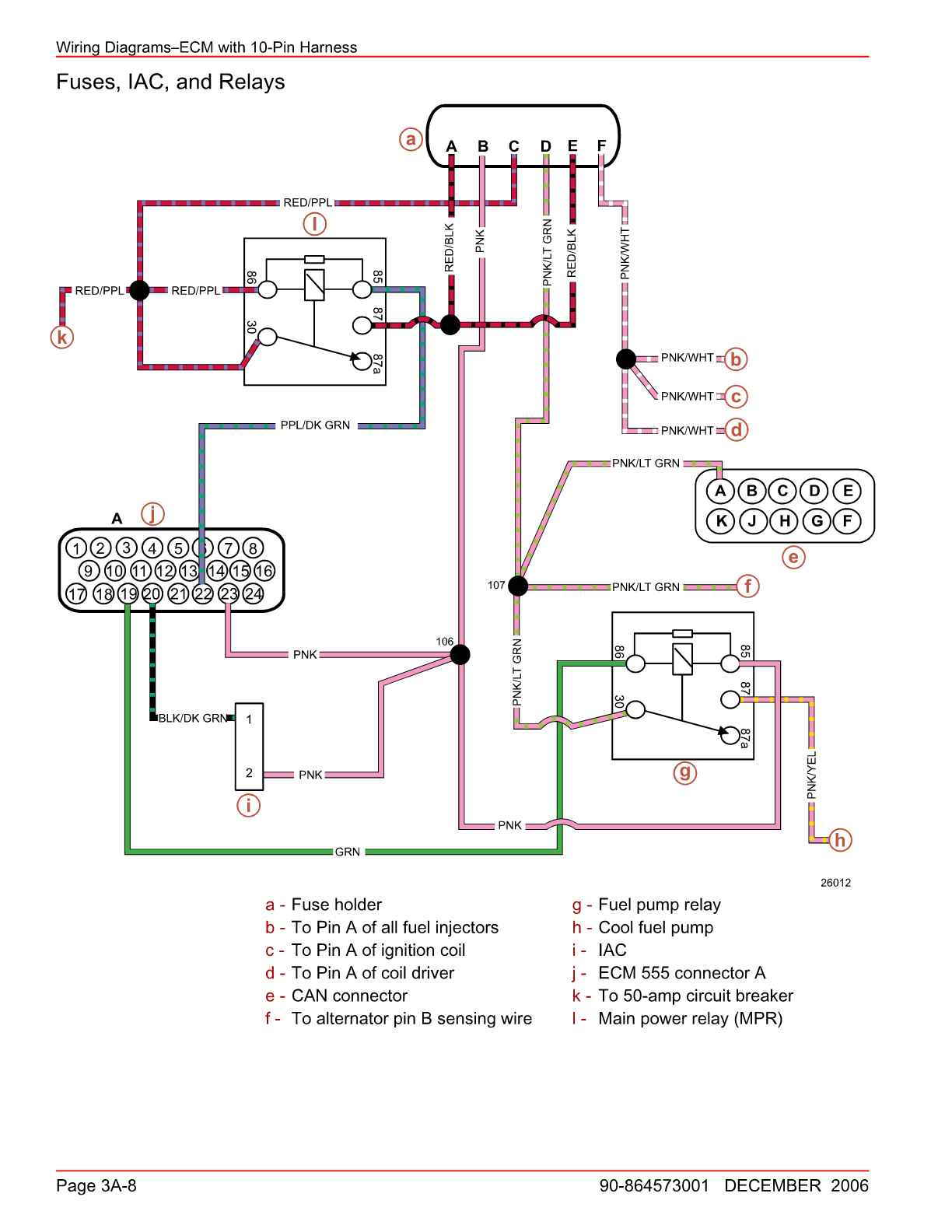 hight resolution of here are the diagrams showing both note the pink wire coming from connector a pin 23 that is the 12v feed to the ecm