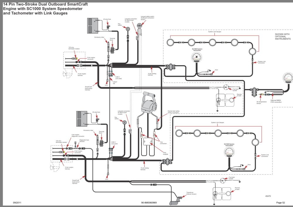medium resolution of here is a diagram using the 14 pin wiring harness i corrected the can terminator info in my previous post as well