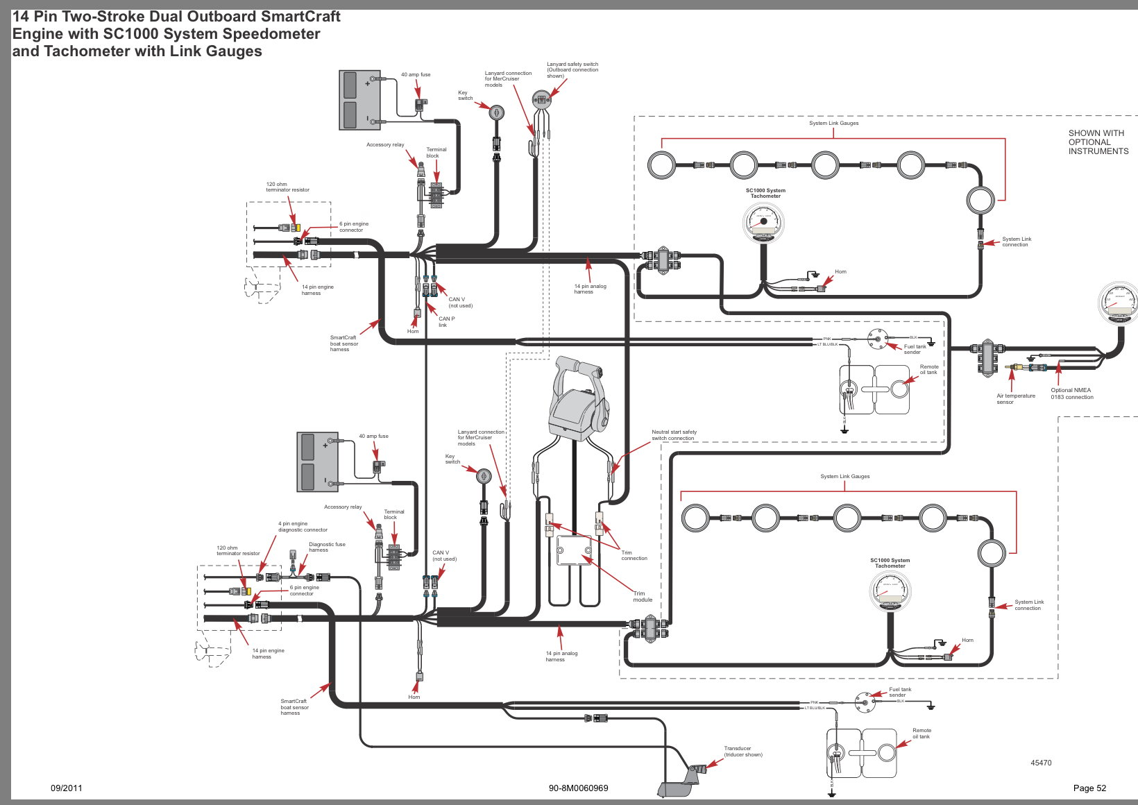 hight resolution of here is a diagram using the 14 pin wiring harness i corrected the can terminator info in my previous post as well